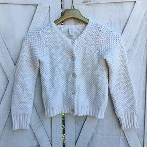 Gymboree Cable Knit Cardigan Sz 7/8